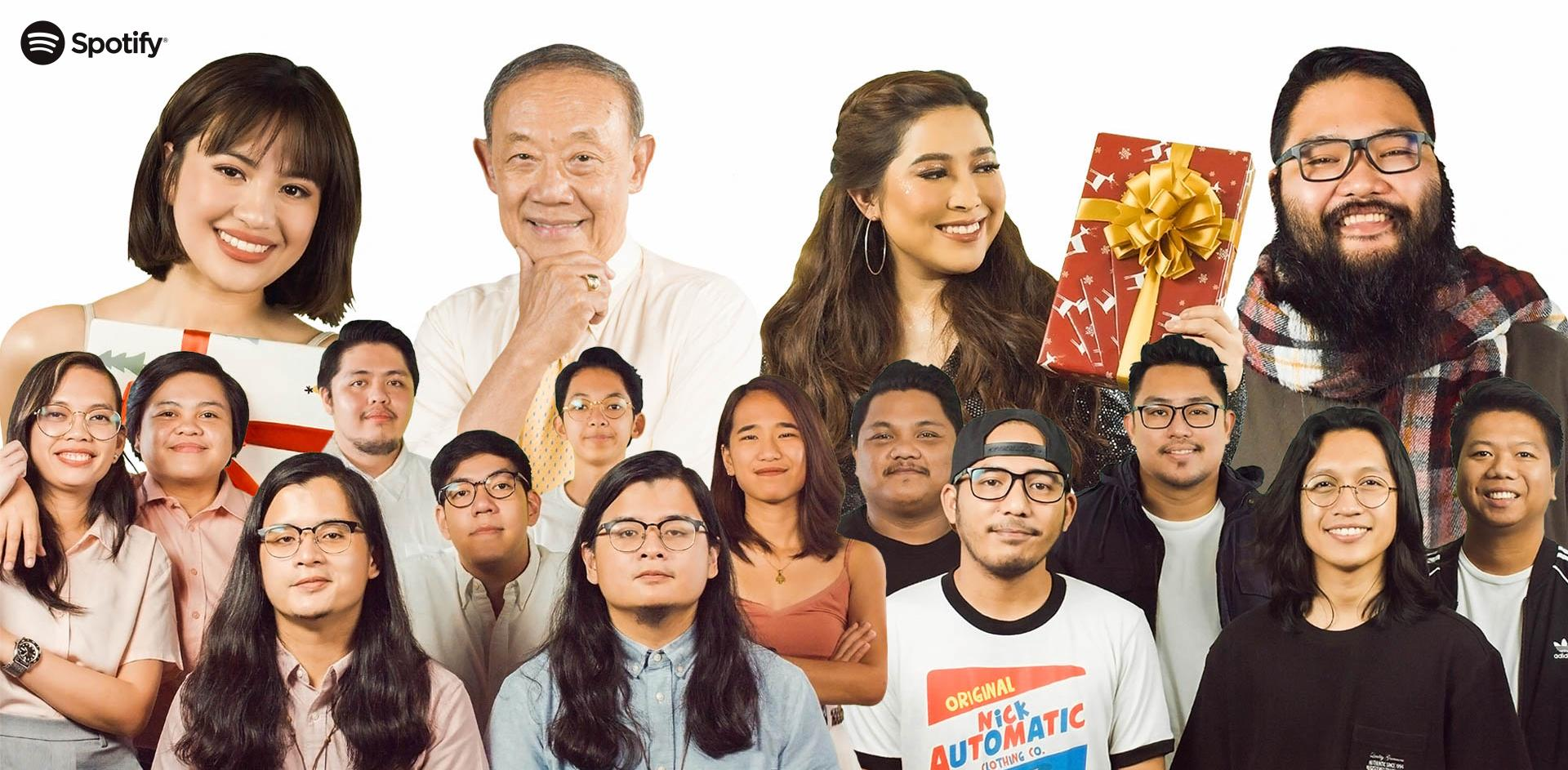 Spotify Teams Up with Jose Mari Chan and Tatak Pinoy All-Stars on First Asia-made Holiday Single ...